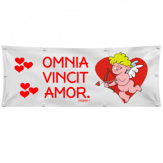 striscione san valentino omnia